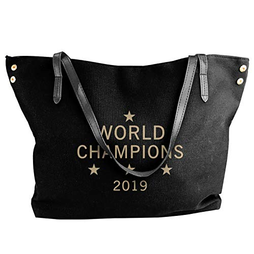 Us Women'S Soccer Team Win World Champions Four Title 2019 Fashion Canvas Shoulder Bag For Women