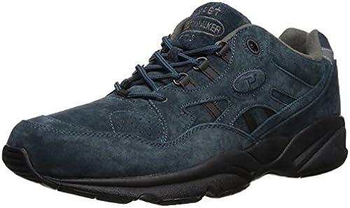 Propet Men& 039;s Stability Walker Walking schuhe, Denim Suede, 15 N US