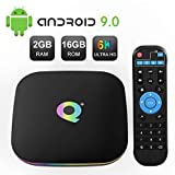 Android Boxes, Sidiwen Q Plus Android TV Box 9.0 2GB RAM 16GB ROM