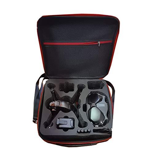 zrshygs Bolsa de Almacenamiento de Nailon Estuche de Transporte Caja Protectora para Gafas D-JI FPV Combo V2 / FPV