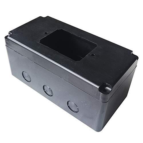 Cajas de montaje rectangulares externas de la caja del interruptor del pulsador para los interruptores de la máquina de carpintería KEDU HY56 KJD17B-16