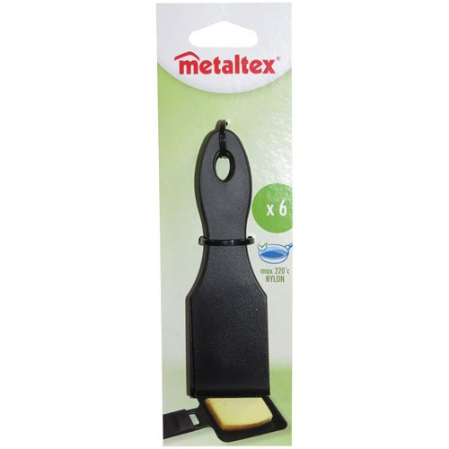 Metaltex 256012 Spatule raclette Futura Nylon Lot de 6