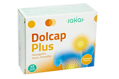 Sakai –Dolcap Plus con Sauce Blanco, Ortisifón y Harpagofito– Alivia la inflamación,...