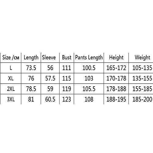 Zjcpow-CL Pijama para hombre de manga larga para hombre, pijama de algodón, cuello redondo, informal, color sólido, para juventud, servicio a domicilio (color: color foto, tamaño: L)