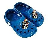 Disney Mickey Mouse Zuecos para Niños, Sandalias Ligeras, Diseño Ratón Mickey, Regalo para Niños, Talla EU 32/33
