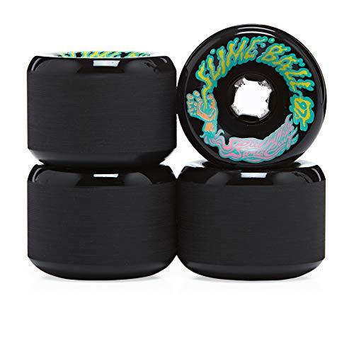Santa Cruz Vomits 97a Slime Balls Skateboard Wheel 60mm Black