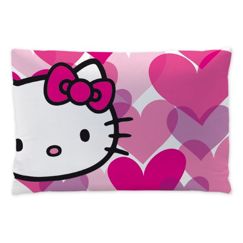 CTI 041414 Kissen Hello Kitty Mimi Love, Polyester, 28 x 42 cm, pink