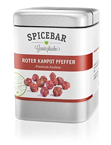 Spicebar Roter Kampot Pfeffer, Premium Auslese aus Kambodscha (1 x 70g)