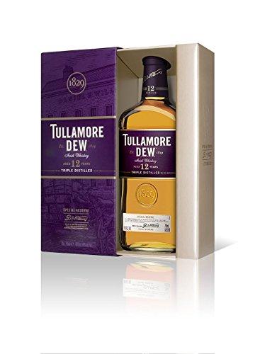 TullamoreDEW Irish Whiskey 12 Jahre mit Geschenkverpackung (1 x 0,7 l)
