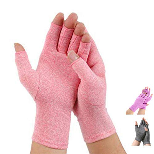 Pro-orthic Reuma Artritis Compressie handschoenen roze - large