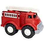 Side Profile of Fire Truck - BPA Free, Phthalates Free Imaginative Play Toy for Improving Fine Motor, Gross Motor Skills. Toys for Kids