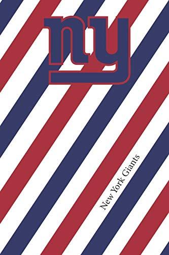 New York Giants: Giants Striped Notebook & Journal | NFL Fan Essential | Giants Fan Appreciation