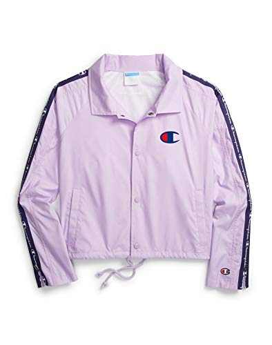 Champion Life Donna Zip Tape Cropped Coach Giacca -  -  X-Large