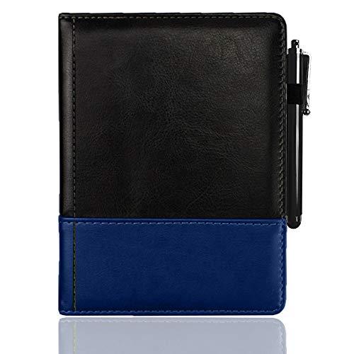 Kobo Aura One Case Deluxe Funda protectora estilo libro – Compatible con Kobo Aura N514 Case Pocket (negro)
