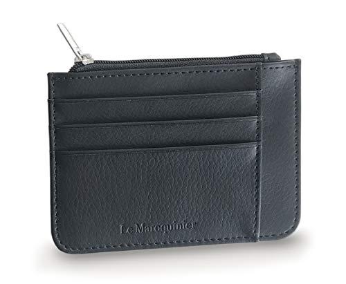 Porte-Cartes de Crédit - Portefeuille - Blocage RFID - Cuir Haute Qualité