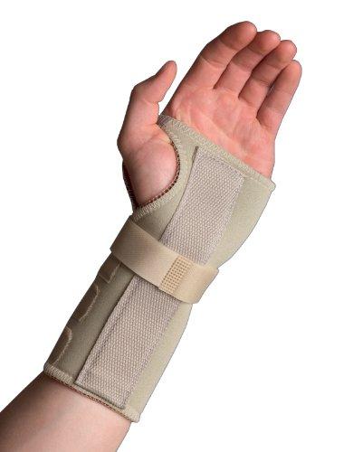Thermoskin - Soporte para muñeca y mano izquierdas para tratamiento del túnel carpiano (de 20 a 22 cm, talla L)
