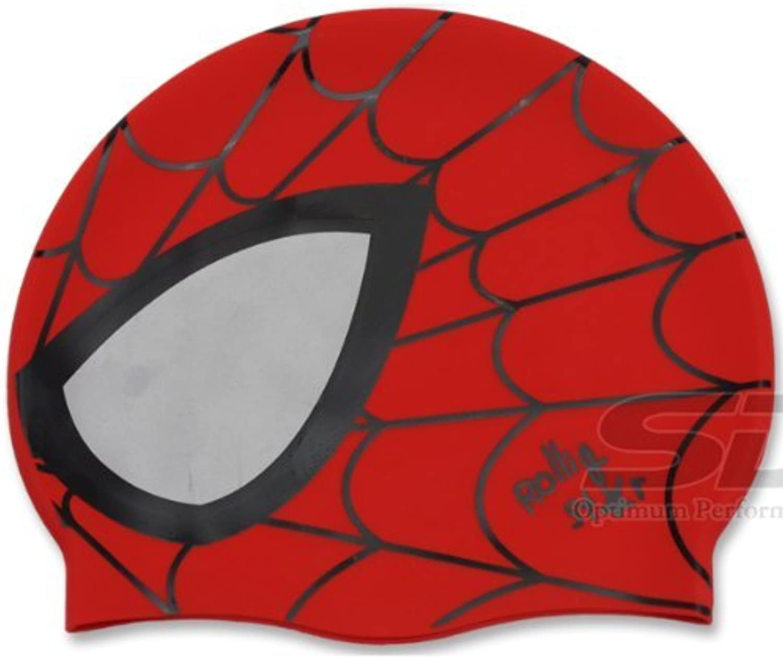 スパイダーマンSwim水泳シリコンヘッドキャップ
