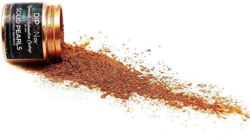 DIPON Epoxidharz Farbpigmente Burning Golden Bronze Pearl für Giessharz Beton Seifenfarbe Farbpulver Nail UV Gel Autolack Flüssiggummi Metallic Perlglanz Effekt Schimmer Pulver Pigmente (5 Gramm)