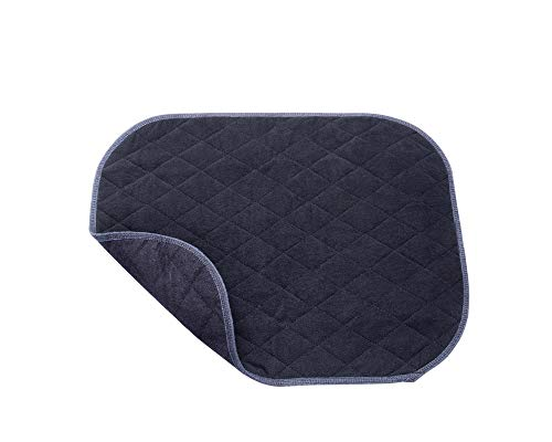 Inkontinenz Sitzauflage | Waschbare Sitzschutzauflage |Sitzauflage saugfähig | Sitzkissen | Sitzpolster | Inkontinenzauflage Gr. 40 x 50cm | Top-Qualität von ActivePro (schwarz)