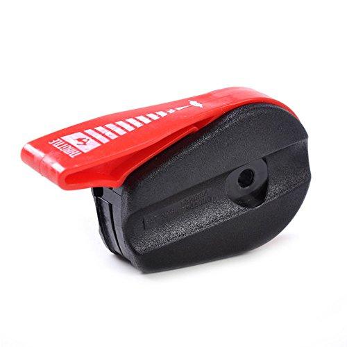 Mando Acelerador Interruptor Palanca Manillar Aceite Cortacésped Jardín Rojo + Negro Mano Push Kit Herramientas Cortacésped Universal