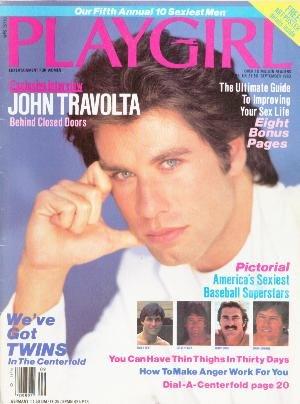 Playgirl Magazine September 1983 John Travolta Cover