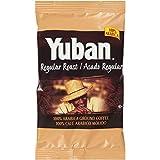 YUBAN Regular Roast & Ground Coffee, 1.5 oz. Pouches (Pack of 42)