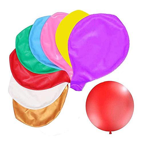 A+ Palloncini Giganti, Palloncini in Lattice da 36 Pollici, Palloncini per Feste, Riutilizzabili, per la Decorazione di Eventi per Feste di Compleanno per Matrimoni di Natale di Halloween, 8 Colori