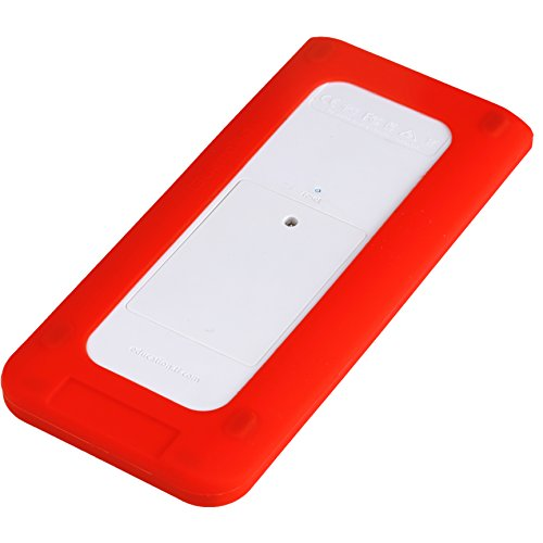 Guerrilla Silicone Case for Texas Instruments TI Nspire CX/CX CAS Graphing Calculator, Red Photo #3