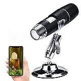 Wireless Digital Microscope,XVZ 50X to 1000x portable Microscope Magnifier,Mini Pocket Handheld Microscope...