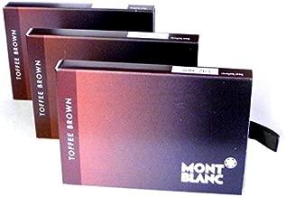 Montblanc 24 Ink Cartridges Toffee Brown