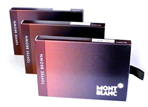 Montblanc cartuchos de tinta 24 melcocha marrón