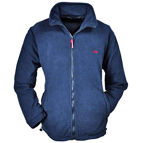 Brigg Herren Windbreaker Fleece Jacke XXXXL-10XL, Navy, 5XL