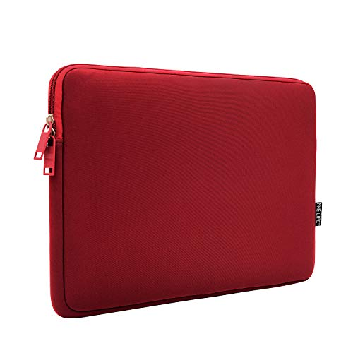 ONE LIFE 15 Inch Waterproof Laptop Sleeve Case Compatible with 15 Inch MacBook Pro HP Dell Acer Lenovo Sony (15 Inch, Red)