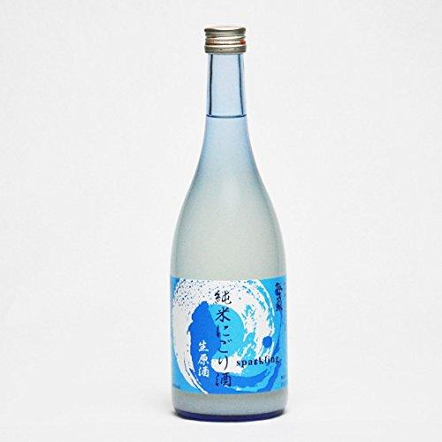 諏訪泉純米発泡にごり生原酒720ml要冷蔵日本酒鳥取地酒