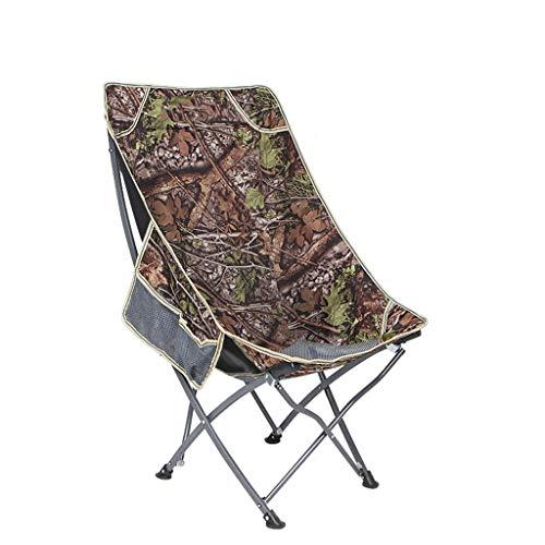 Cxp Boutiques Chaise de Pliage Portable arrière Chaise de pêche Retour Chaise de Plage Loisirs Chaise de Plage (Color : B)
