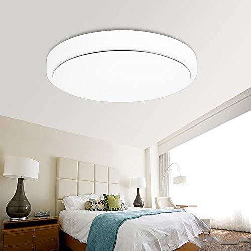 Deckenleuchten für Küche führten Wohnzimmer-modernes einfaches einfaches 48w Gang-Badezimmer-Korridor-Acryllicht-Pv Silberdraht_36 W/stufenloses Dimmen / 40 cm