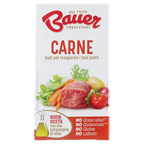 Bauer Dado per Brodo di Carne 60 G (Ast.X 6 Dadi) - 60 g