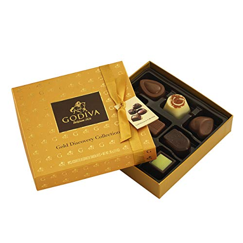 Photo of Godiva Gold Discovery Gift Box – 9 Pieces