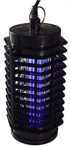 ChiliTec LED Insektenvernichter 30m² Insektenlampe InsektenschutzI I 1,5m Kabel I UV Licht gegen Mücken Stechmücken I 230V Anti Insekten zum Hängen