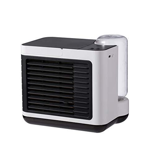 Aire acondicionado portátil, 300 ml, enfriador de aire portátil 3 en 1, ventilador/humidificador, mini aire acondicionado portátil, para casa y oficina