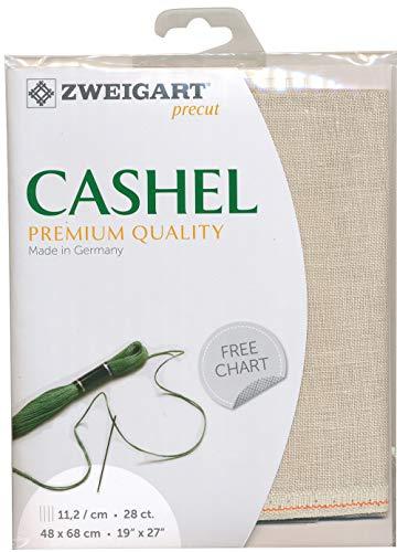 Zweigart Precut Cashel col.770 Stoffzuschnitt, 48 x 68 cm