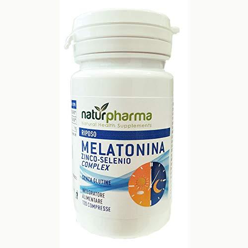 Melatonina Zinco Selenio Complex 120 compresse da 300 mg