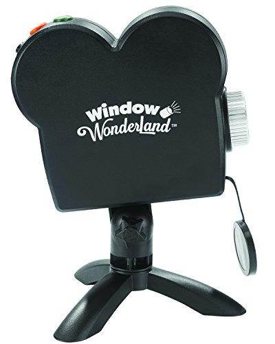 Window Wonderland das Projektor Video Revolutionäre–gesehen an Fernseher