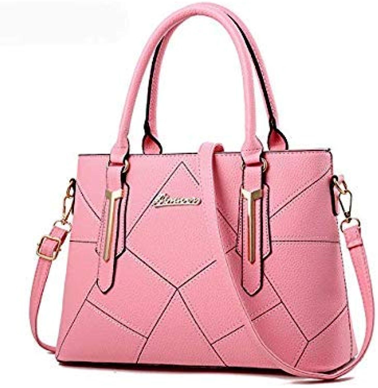 Bloomerang Ainvoev Women Handbags Pouch Fashion Ladies Totes Women Shoulder Messenger Bags Big Capacity Bolsa High Quality Mother Bag a3415 color Pink Women Totes 33x13x24cm