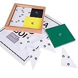 D DOLITY Montessori - Juego de matemáticas para niños, juguete de desarrollo de inteligencia - # 4