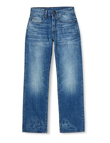 G-STAR RAW Herren Jeans 3301 Relaxed, Blau (Medium Aged 9299-071), 31W / 34L