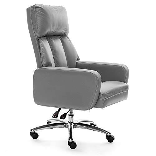 HMBB Sillas de escritorio, Sillas de oficina en casa de oficina sillas de escritorio ejecutivo silla de oficina ergonómica de ordenador tapizado en capas de cuerpo almohadas