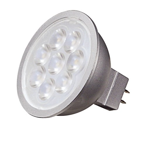 Satco S9496 6.5W LED MR16 LED 3000 K 40' Beam Ausbreitung GU5.3 Base 12V Glühbirne