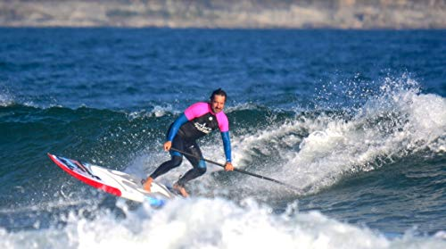 Paddle GanG Remo de Paddle Surf de Carbono 100% Remo de Altas prestaciones Fabricado con Carbono 3K y con un Peso de Menos de 500 Gramos.
