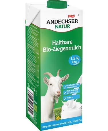 Andechser Bio Ziegenmilch 1,5% 6x 1Liter
